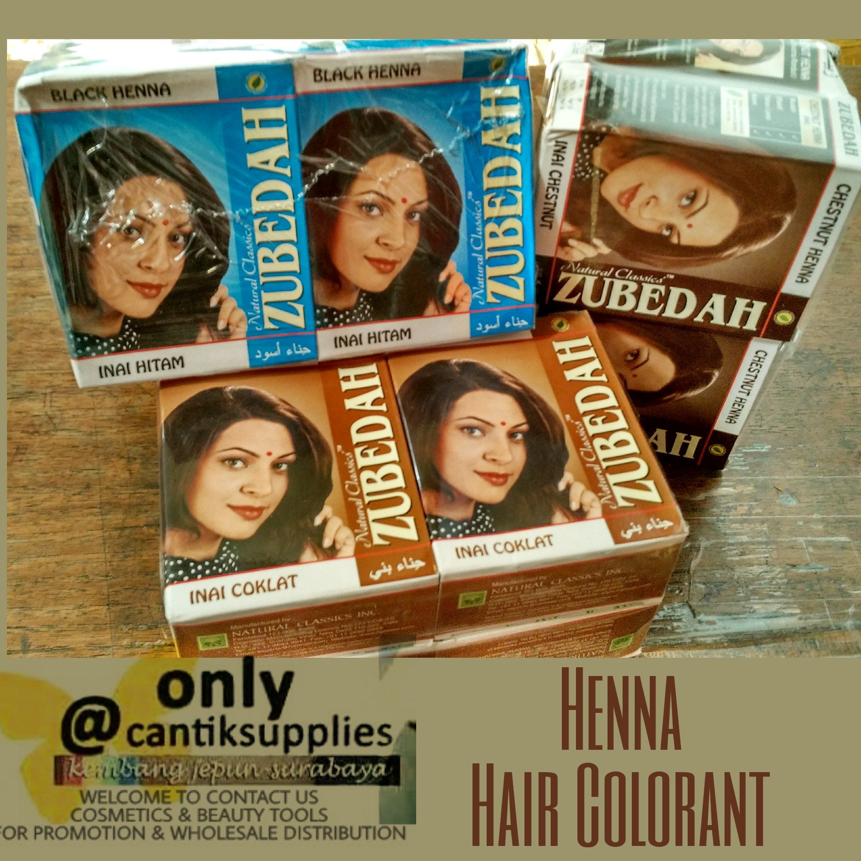 Zubedah Henna Pusat Grosir Kosmetik Alat Salon Kecantikan Rambut Image